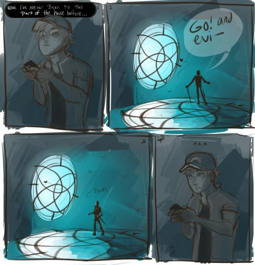 Adrien gets into Pokémon go and discovers Hawkmoth's lair miraculous ladybug | Tumblr
