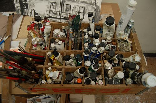 Using Oil Paints Responsibly: Tips, ideas, and how to filter paint thinner