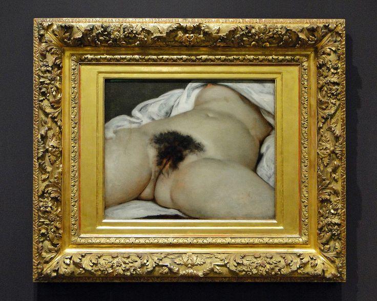 Gustave Courbet - L'origine del mondo - Museo d'Orsay, 1866