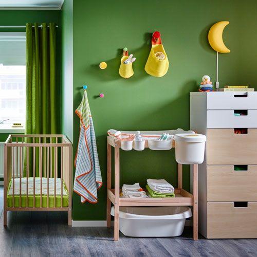 25 best ideas about chambre complete on pinterest une - Panier osier rangement ikea ...