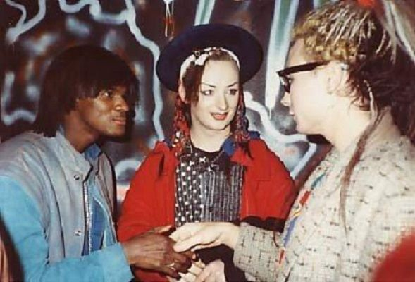 Jermaine Stewart Boy George and Marilyn