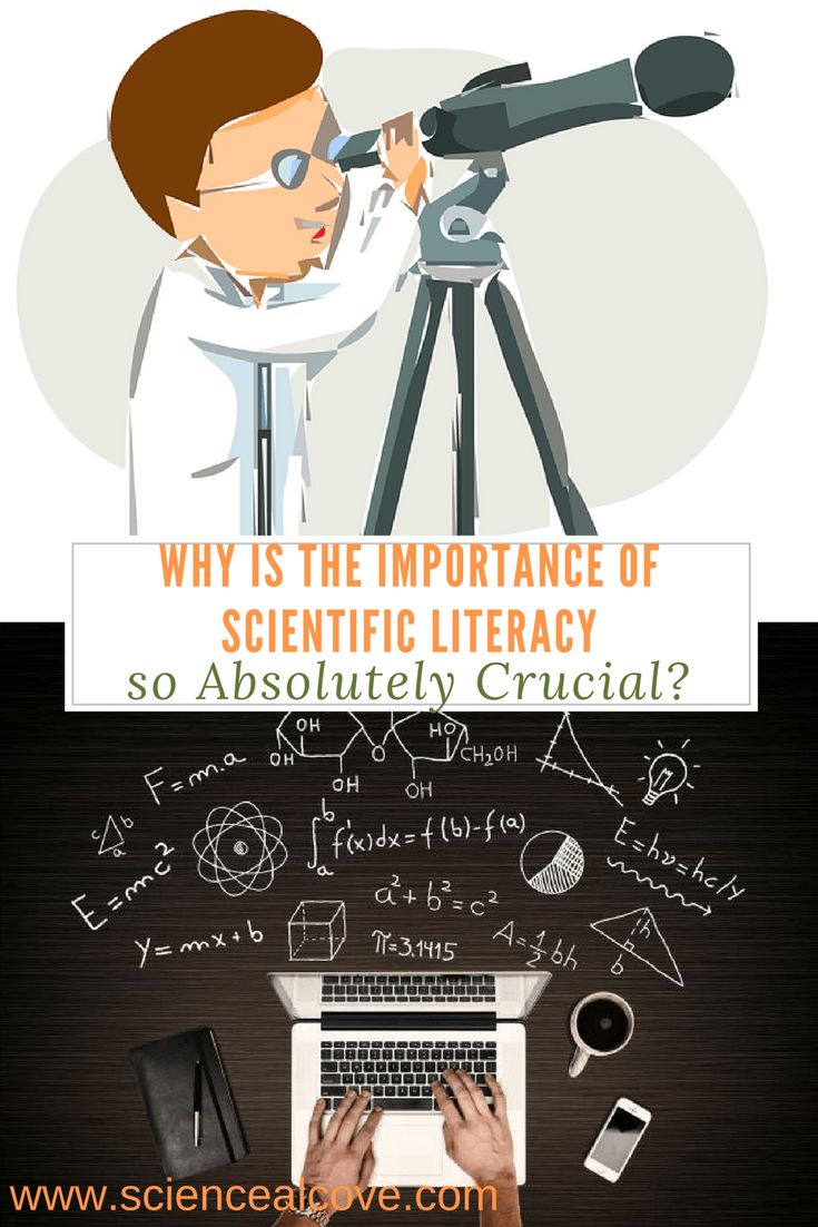 Why is the Importance of Scientific Literacy so Absolutely Crucial? Respect the importance of scientific literacy. Daily decisions on life, and our ability to converse intelligently is rooted in our basic science literacy. #science #scientificliteracy #literacy