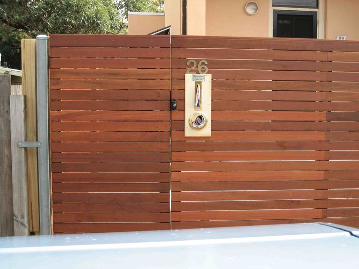 Modern Horizontal Fence Google Search The High House