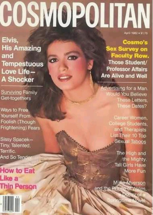 Always makes me sad to see the last Cosmo cover that Gia did. Taken as a favor from Scavullo, Gia's arms are behind her back to hide her track marks. I remember this cover and did have it. I had ALL the GIA Cosmo covers. Wish I had saved them.