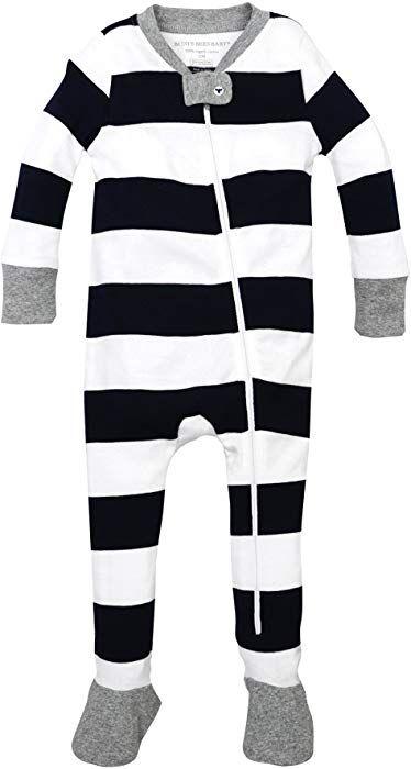 716b881cb8c2 Amazon.com  Burt s Bees Baby Baby Boys Pajamas