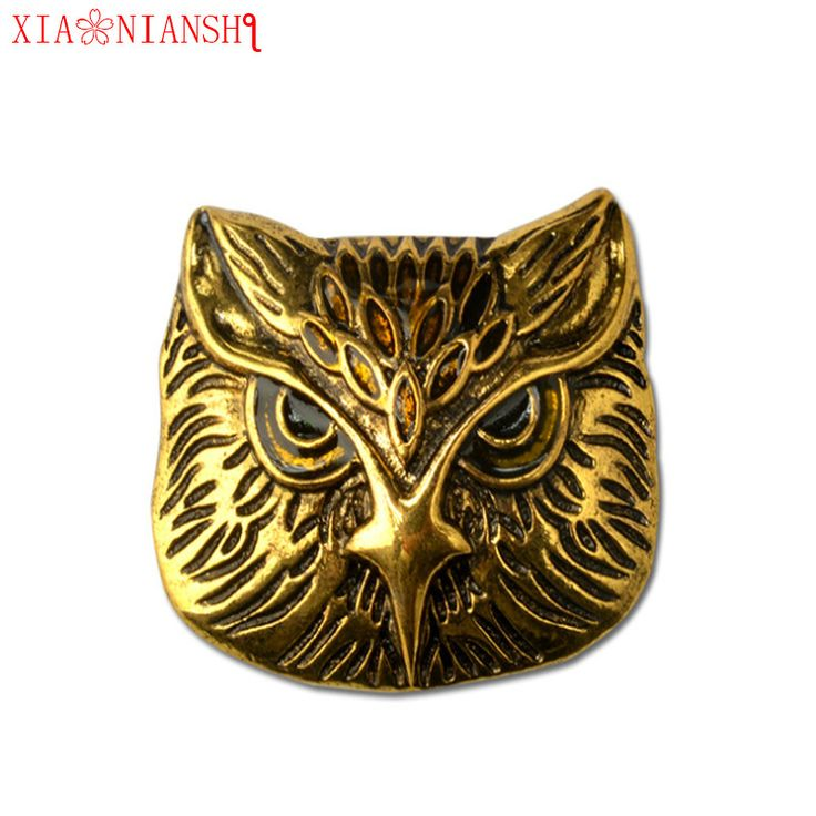 XIAONIANSHI New Brooch Vintage Owl Clothing Accessories Hot Pin Charming men Individuality Punk Style Needle Accessories gift-in Brooches from Jewelry & Accessories on Aliexpress.com | Alibaba Group