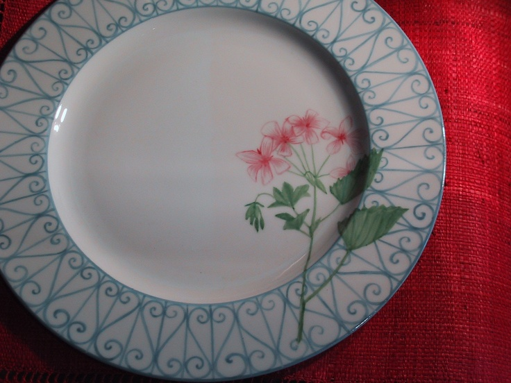 hand painted on limoges porcelain