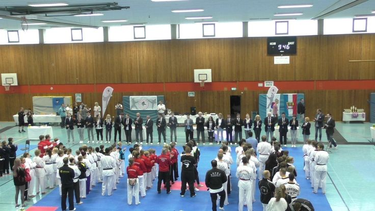 4K - Sport news Germany - Taekwondo - TVSH Linden Cup 2017 in Bordesholm...