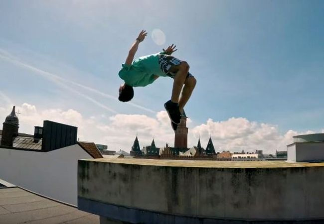 For these two Palestinians parkour is more than a sport, it is a way of life. Impassioned with a new mindset where all walls are meant to be jumped over, parkour has become their vehicle to freedom. Formerly students of the internet, Mohamed and Ahmad now teach their craft to children in Sweden. Although confronted …