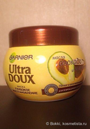 Garnier Ultra Doux глубокое восстановление - маска, которая смогла