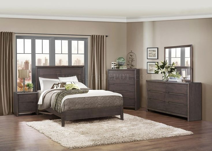 gray bedroom furniture sets