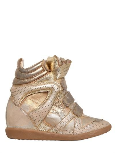 isabel marant.: Luxury Shops, Birds Metals, Marant Sneakers, Leder Sneakers, Leather Sneakers, Metals Leder, Isabel Marant, Metals Leather, Marant Metals