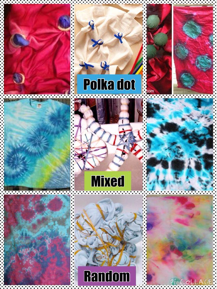 25+ best ideas about Tie dye techniques on Pinterest   Diy tie dye ...