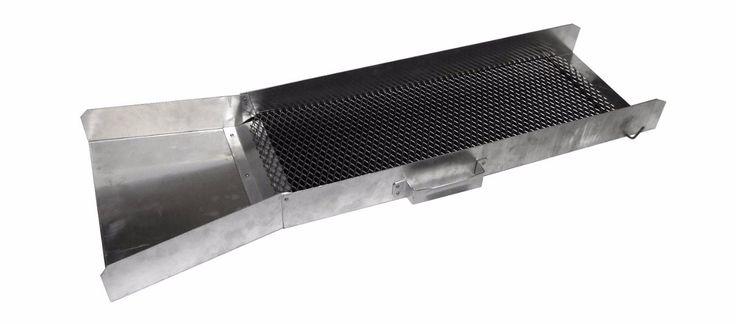 Rýžovací splav s rýhovanou gumou - hliníkový :: Detektory kovu Zipsy