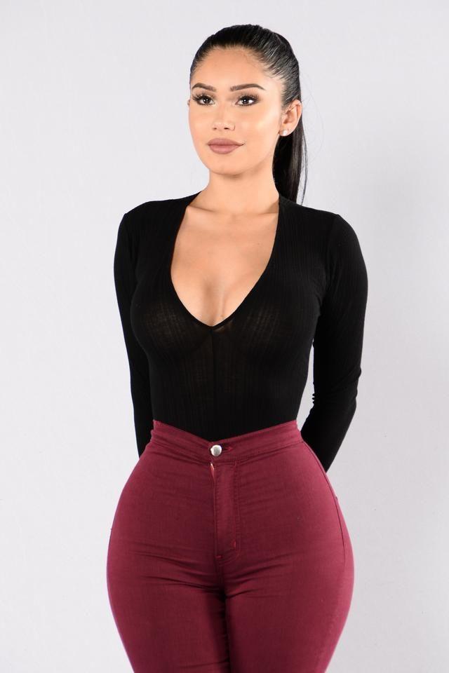 Gia Bodysuit - Black