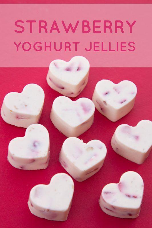 Strawberry Yoghurt Jellies - Willa Collective
