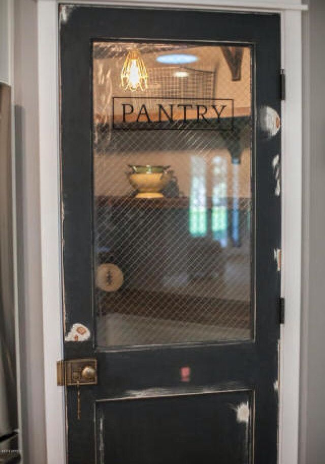 Vintage pantry door  For the Home  Glass pantry door
