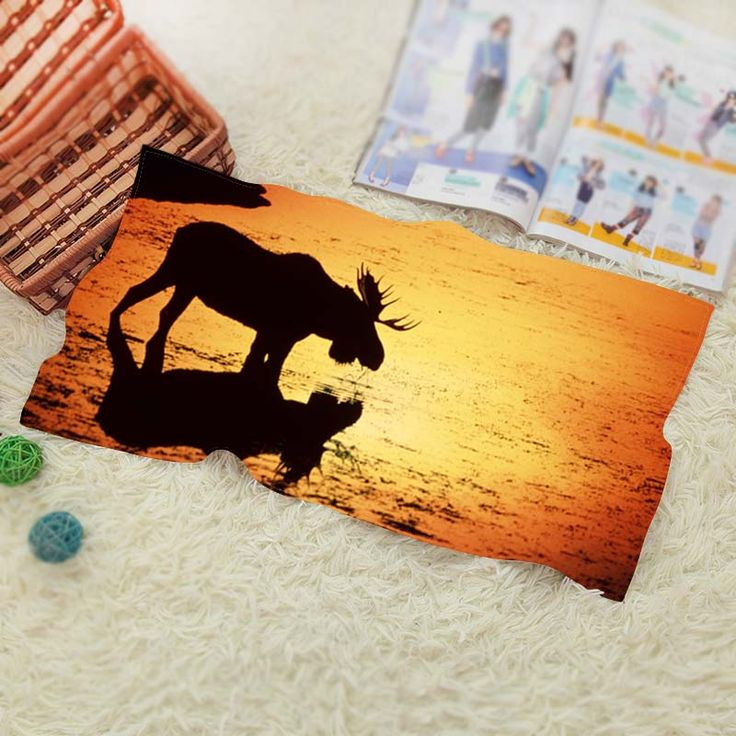 Moose Wyoming  Travel Swim Spa Beach Towel for Kids Adults Baby Batoom Textile 70*140