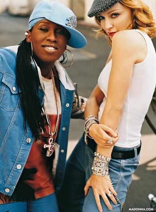 Missy Elliot & Madonna - Gap campaign