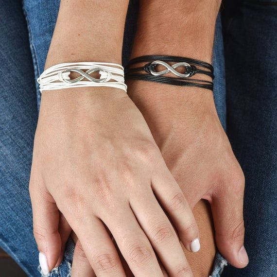 Wedding Gift His And Hers Bracelet Friendship Jewelry Couples Gift Couples Bracelets Matching Bracelets Anniversary Gift