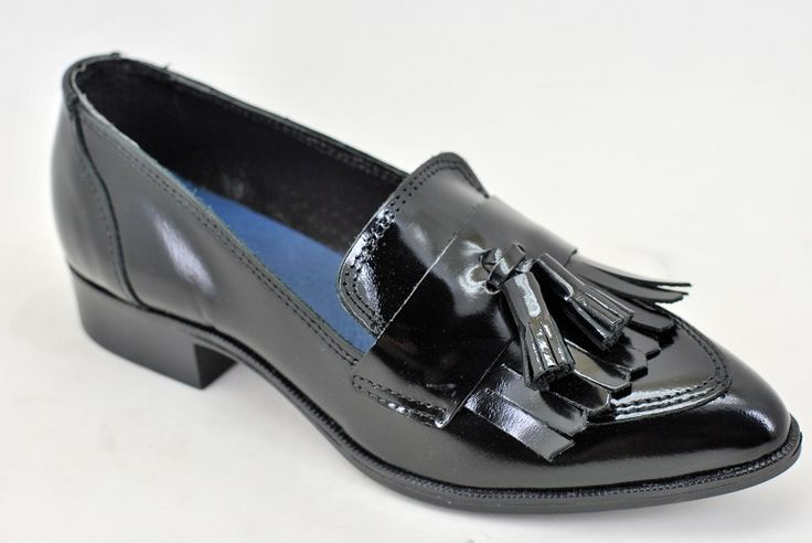 Zapato plano de piel de florentic. www.dicarolo.com