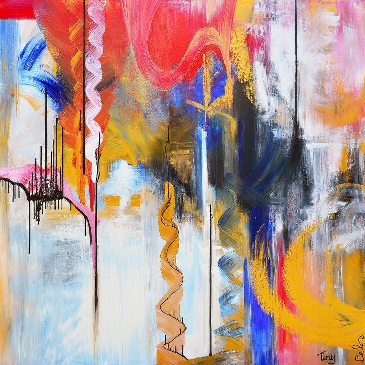 25 beste idee n over groot schilderij op pinterest abstracte kunst groot kunstwerk en grote - Gemengde babykamer idee ...