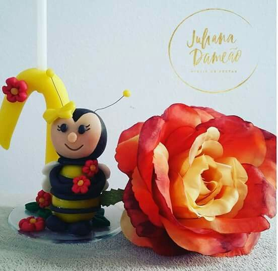 Vela abelhinha buscuit