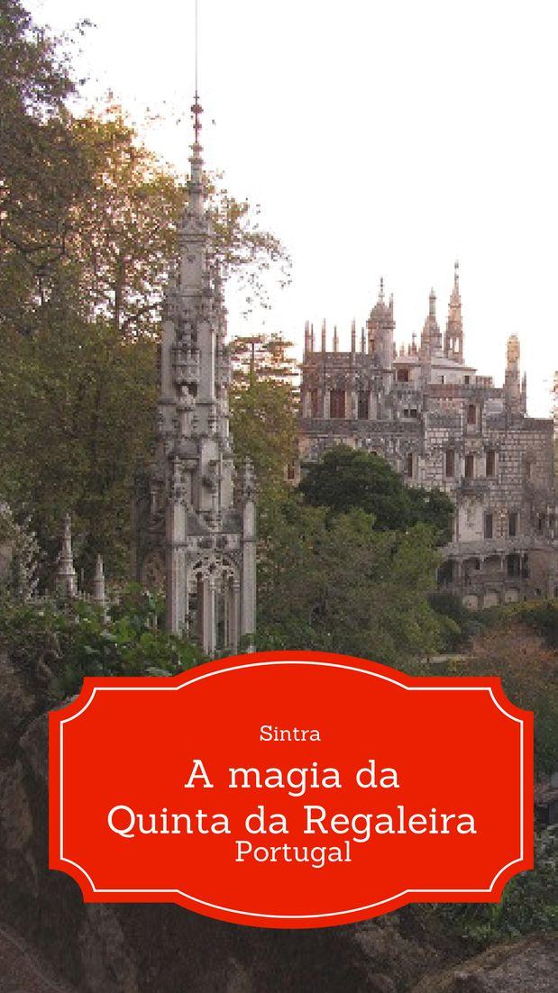 A Quinta da Regaleira na encantada cidade de Sintra, Portugal, é carregada nas cores da magia, em tons fortes, onde seres mágicos a habitam. É uma visita imperdível para quem vai à Sintra. Entre, leia mais, descubra os detalhes...
