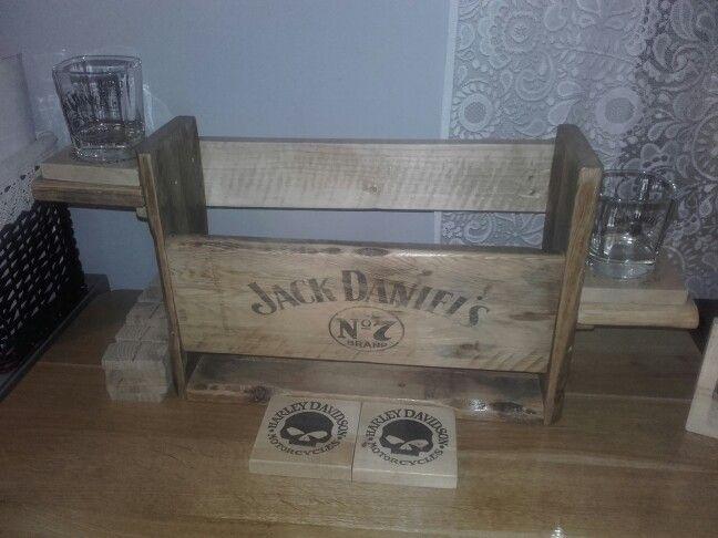 Jack Daniels shelf