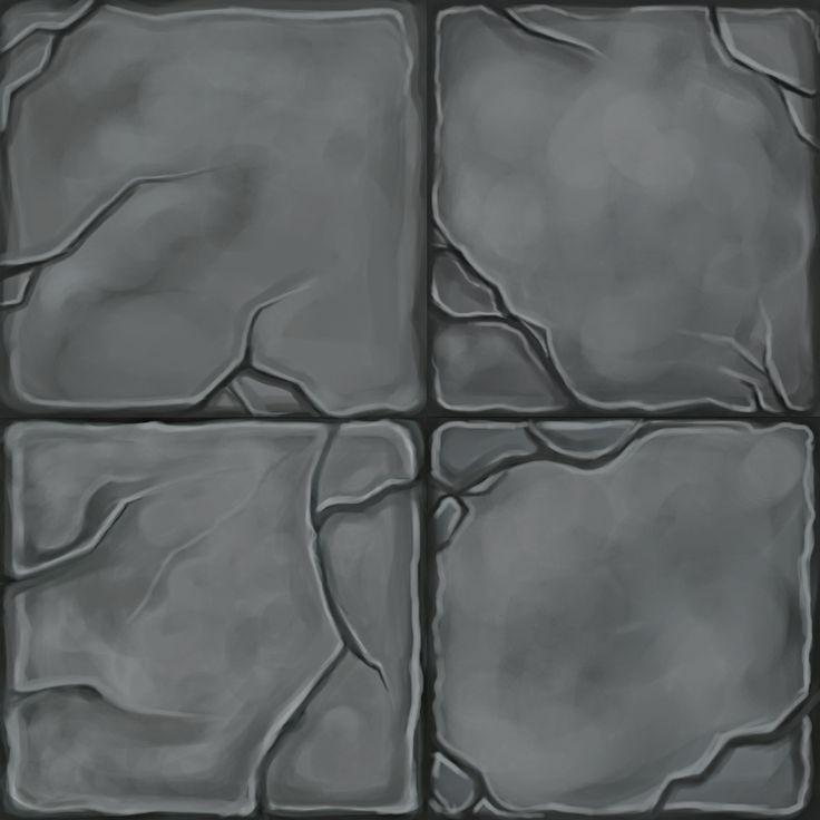 Stone Floor- Handpainted Textures