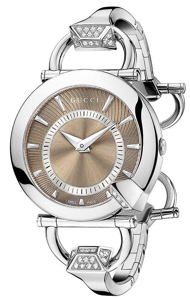 Gucci Women's Chiodo Diamond Watch ♥✤ | Keep the Glamour | BeStayBeautiful