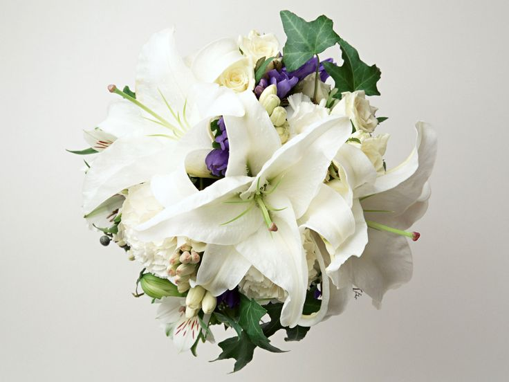 wedding flowers with lilies - Google Search