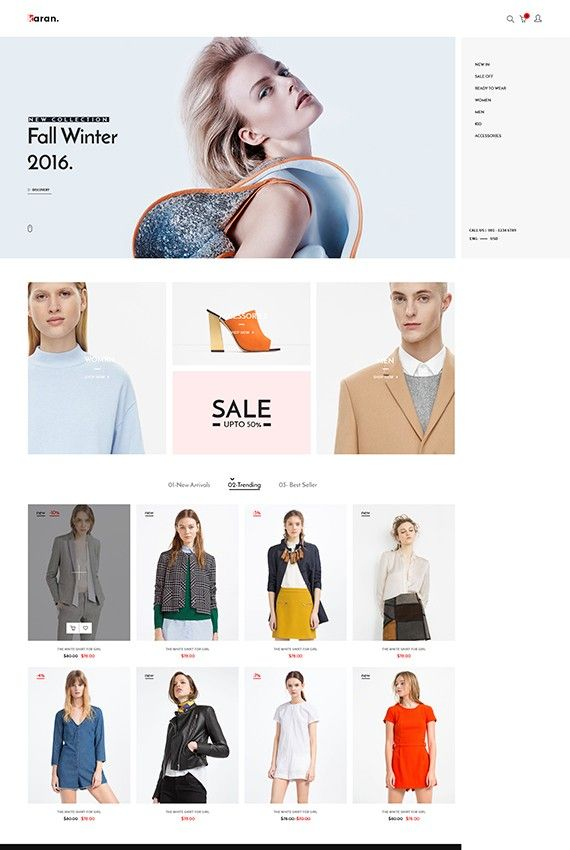 Karan - Minimal Fashion Prestashop Theme