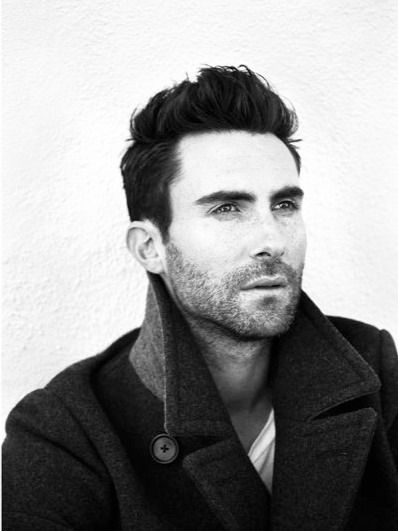 Adam Levine. K. Even im at a loss for words. Who doesnt love a guy who sings, and looks hot in a mf'n trench coat?!!!