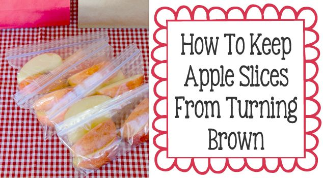 How To Keep Sliced Apples Fresh Longer!