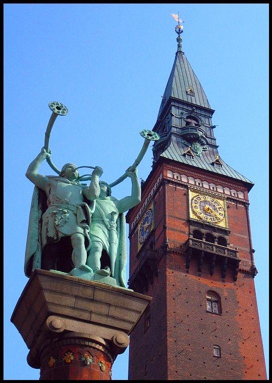 Two symbols from Copenhagen - Copenhagen, Kobenhavn