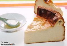 Tarta de queso y chirimoya