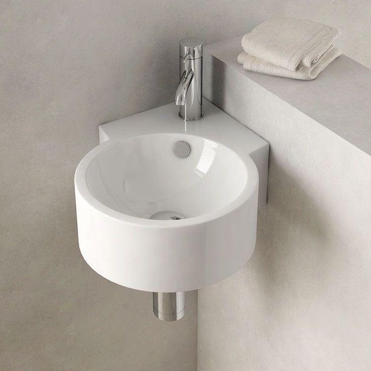 Lave Mains D Angle Suspendu 30x44 Cm Ceramique Pure Salledebain Bathroom Bathroomdesign Bathroomidea Lave Main Angle Lave Main Lave Main Toilette