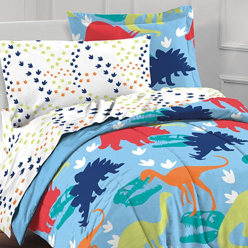 Dream Factory Dinosaurs 5-pc. Twin Comforter Set ...
