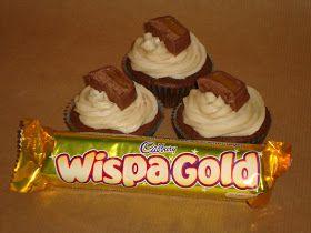 Cupcake Crazy Gem!: You are Gold...Wispa Gold!