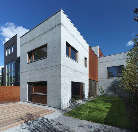 La Maison Beaumont, Montreal, Canada By Henri Cleinge Architecte.