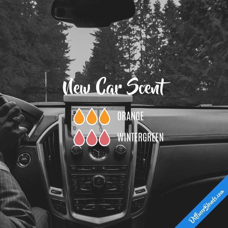 New Car Scent — Essential Oil Diffuser Blend