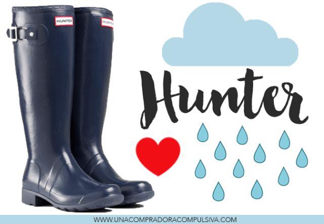 Hunter en AliExpress: botas Hunter más calcetines by Una compradora compulsiva.