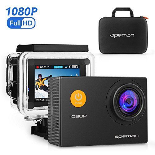 [$48.44 save 18%] #LightningDeal 60% claimed: APEMAN Waterproof Action Camera Full HD 1080P Sports Camera 12MP D... http://www.lavahotdeals.com/ca/cheap/lightningdeal-60-claimed-apeman-waterproof-action-camera-full/218687?utm_source=pinterest&utm_medium=rss&utm_campaign=at_lavahotdeals