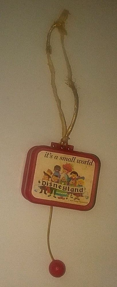 VINTAGE MUSIC BOX AT ONE TIME WAS HUNG OVER THE CRIB SONG IS  It's a small world #DISNEYPRODUCTS
