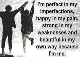 Image result for am not perfect