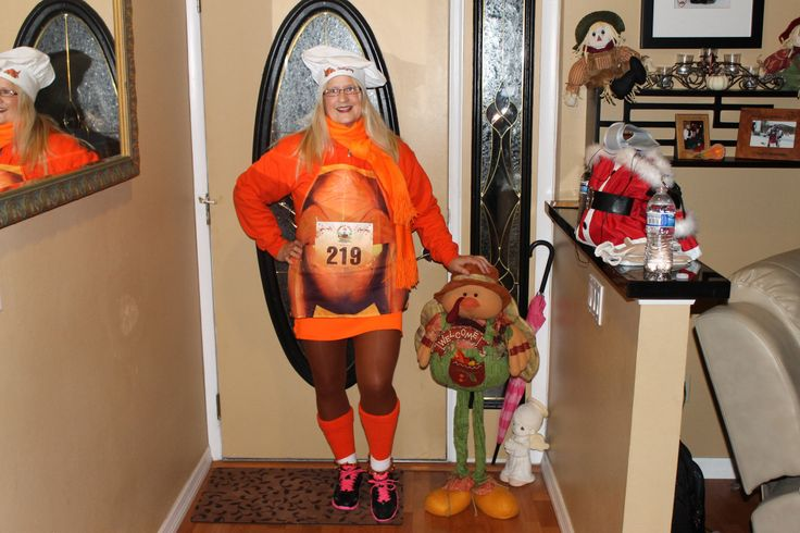 Race outfit for The Turkey Trot Orlando Fla. 2013