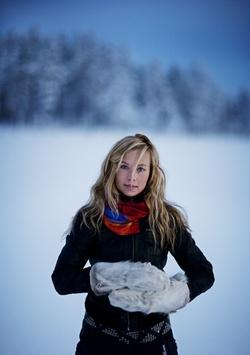 Sami artist Sofie Jannok, Sweden