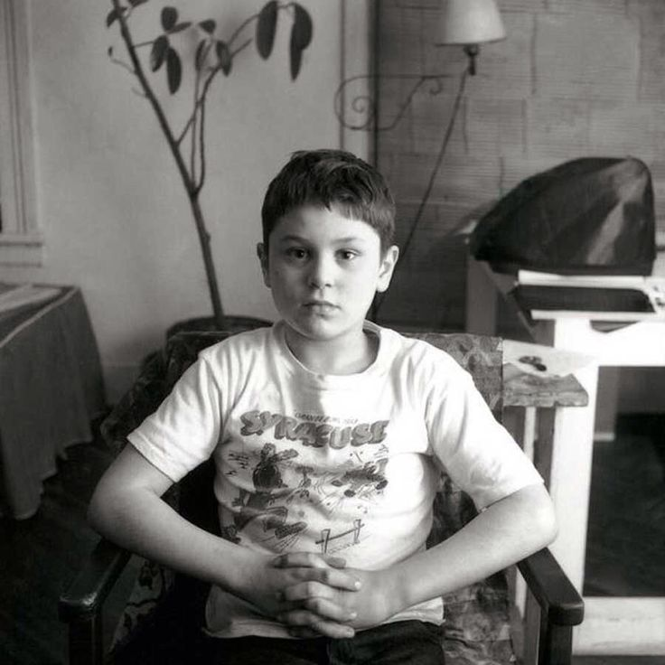 A 7 year old Robert De Niro