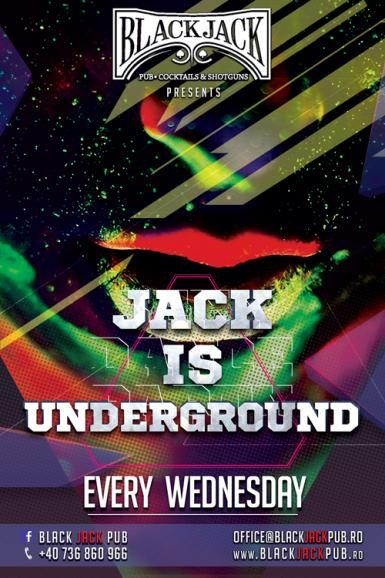 poze jack is underground powered by black jack pub